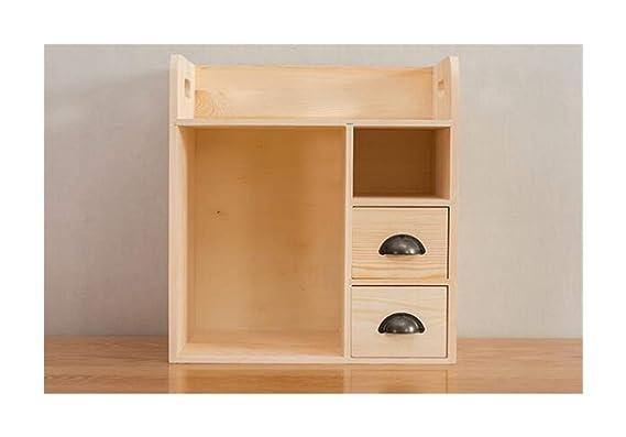 XH Shop Storage Box Simple Mesa pequeña estantería Escritorio de ...