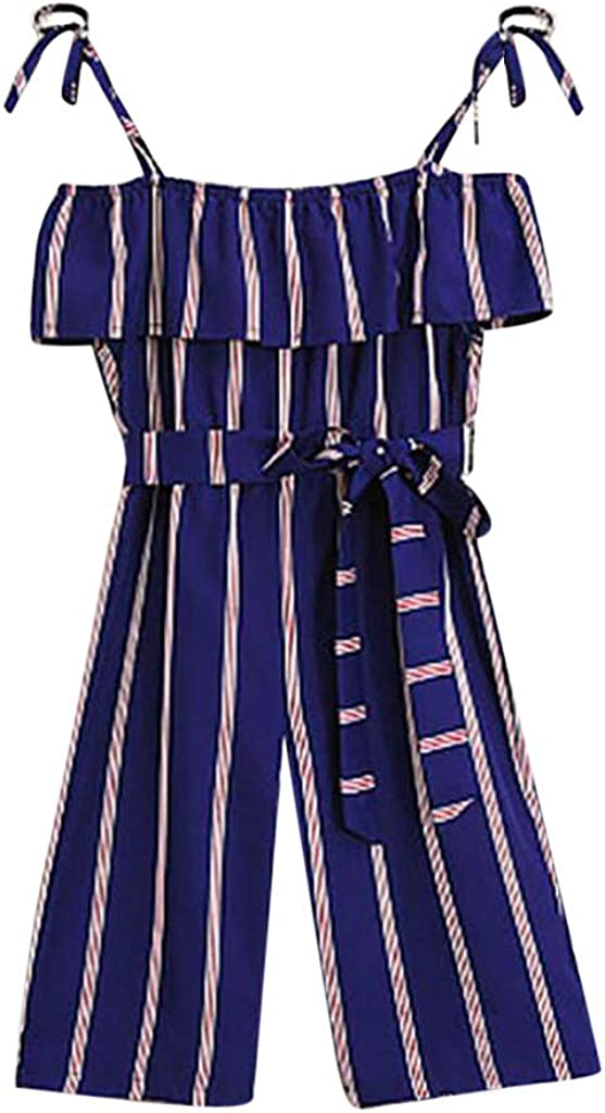 Ages 8-15years Dognose Girls Bermuda Shorts Mid Blue Embroidery Trim Roll Up Hem Summer Adjustable Waist
