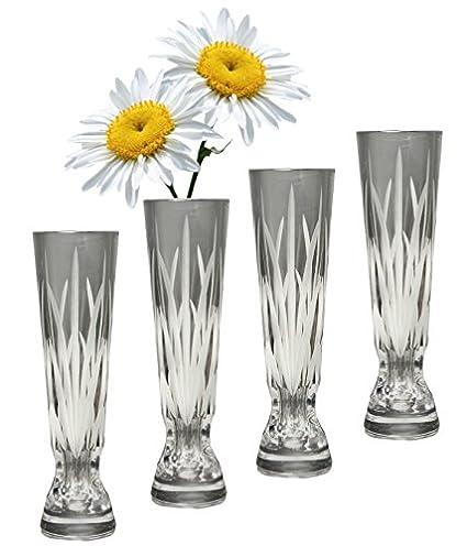 Amazon Gac Decorative Crystal Glass Bud Vase For Flowers 6