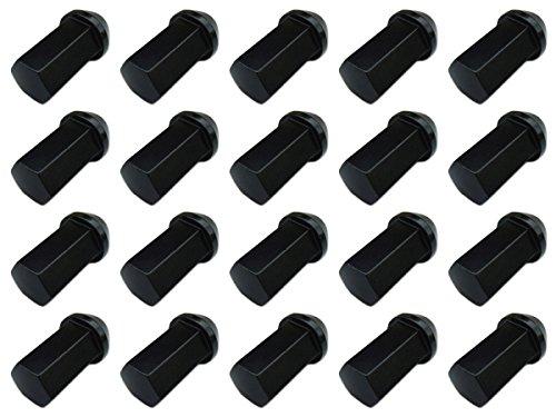 【20個入】【ホイールナット】17H40mm袋ナット黒M12×P1.25【アルミ製】【日産スバルスズキ適合】 B00D5N61FW