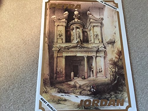 """PETRA ... The Complete Collection of David Roberts Lithographs of Petra 1839 ... David Roberts ... 14 Lithographs in Folder ... 9.25"""" x 12.5"""" ... Great for Framing"""