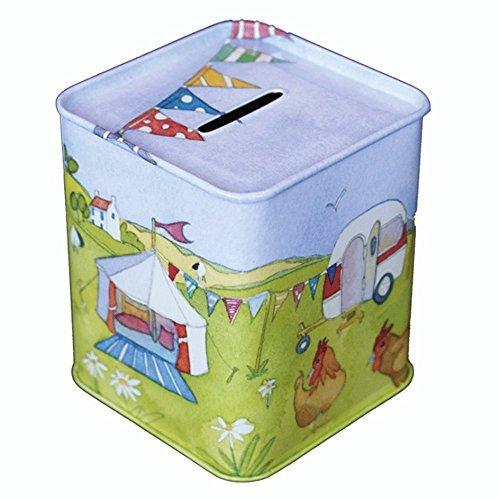 GLAMPING - Caravan/Camping - Emma Ball adaipt caja de dinero/inconsolablemente/Hucha - 9 cm: Amazon.es: Hogar