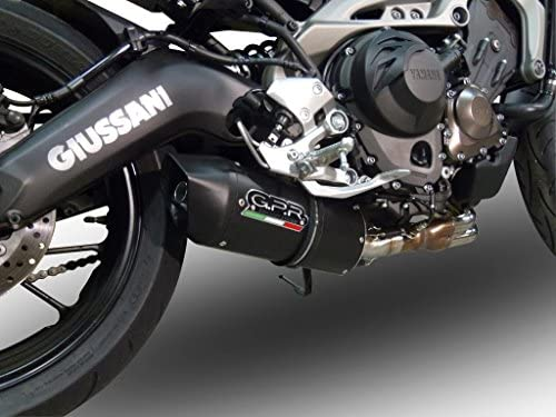 Yamaha MT-09 FZ9 GPR Exhaust Systems Catalyzed Road Legal