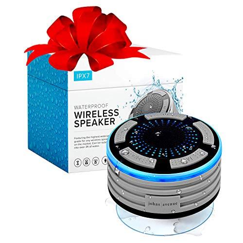 Bluetooth Shower Speaker by Johns Avenue. Waterproof