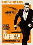 The American Movie Poster (27 x 40 Inches - 69cm x 102cm) (2010) Swiss Style B -(George Clooney)(Bruce Altman)(Thekla Reuten)(Irina Björklund)(Violante Placido)(Samuli Vauramo)
