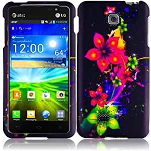 eFashion Quality Hard Protector Case Cover for LG Escape P870 AppealingFlowerDesign also included Elegant Fashion Gift Bag