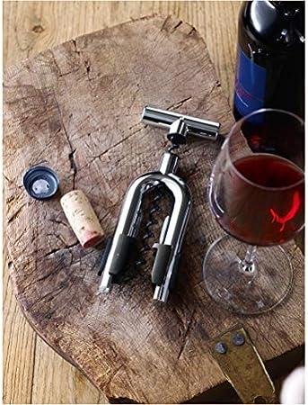 WMF Vino Sacacorchos con ajustador, Acero Inoxidable Pulido