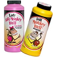 Anti-Monkey Butt Anti Friction Powder, Original & Lady