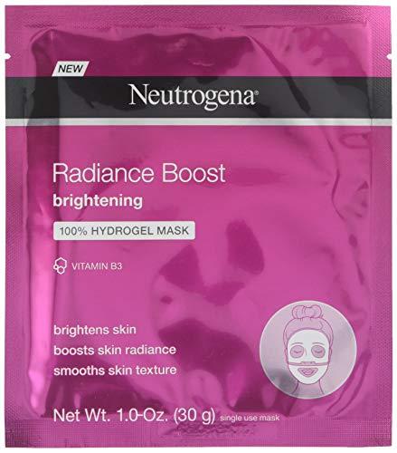 Neutrogena Radiance Boost Brightening Hydrogel Mask 1 Ounce Each (3)