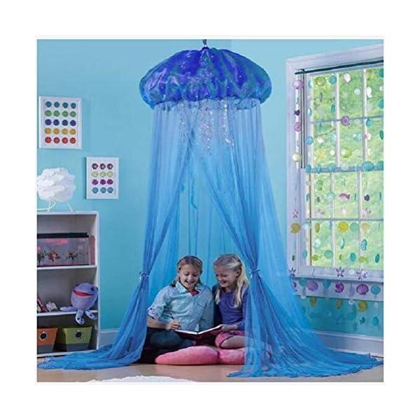 ZXYSR Zanzariera per Cameretta dei Ragazze, Letto A Baldacchino per Bambini Cupola Rotonda Tenda Kids Princess Play… 6 spesavip