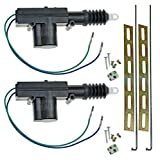 InstallGear Universal Car Power Door Lock Actuators 12-Volt Motor (2 Pack)