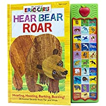 World of Eric Carle, Hear Bear Roar 30 Animal Sound Book - PI Kids (The World of Eric Carle: Play-a-sound)