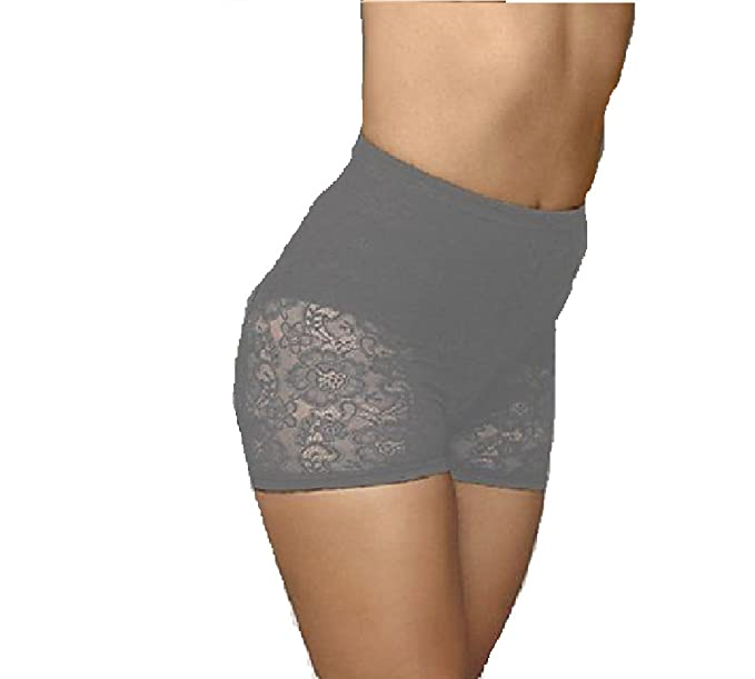 f282a704318 Amazon.com  Maidenform Flexees Fat Free Dressing All Lace Boyshort ...