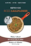 Keto and Co - Dry Riced Cauliflower - 5 Servings, 1lb Prepared