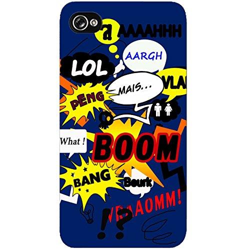Coque Apple Iphone 4-4s - Bulles BD