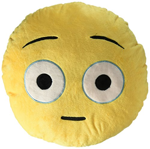 EvZ Emoji Smiley Emoticon Cushion Stuffed Plush Soft Pillow