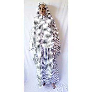 Amazon com : Women's Polyester Prayer Dress 2 Pieces