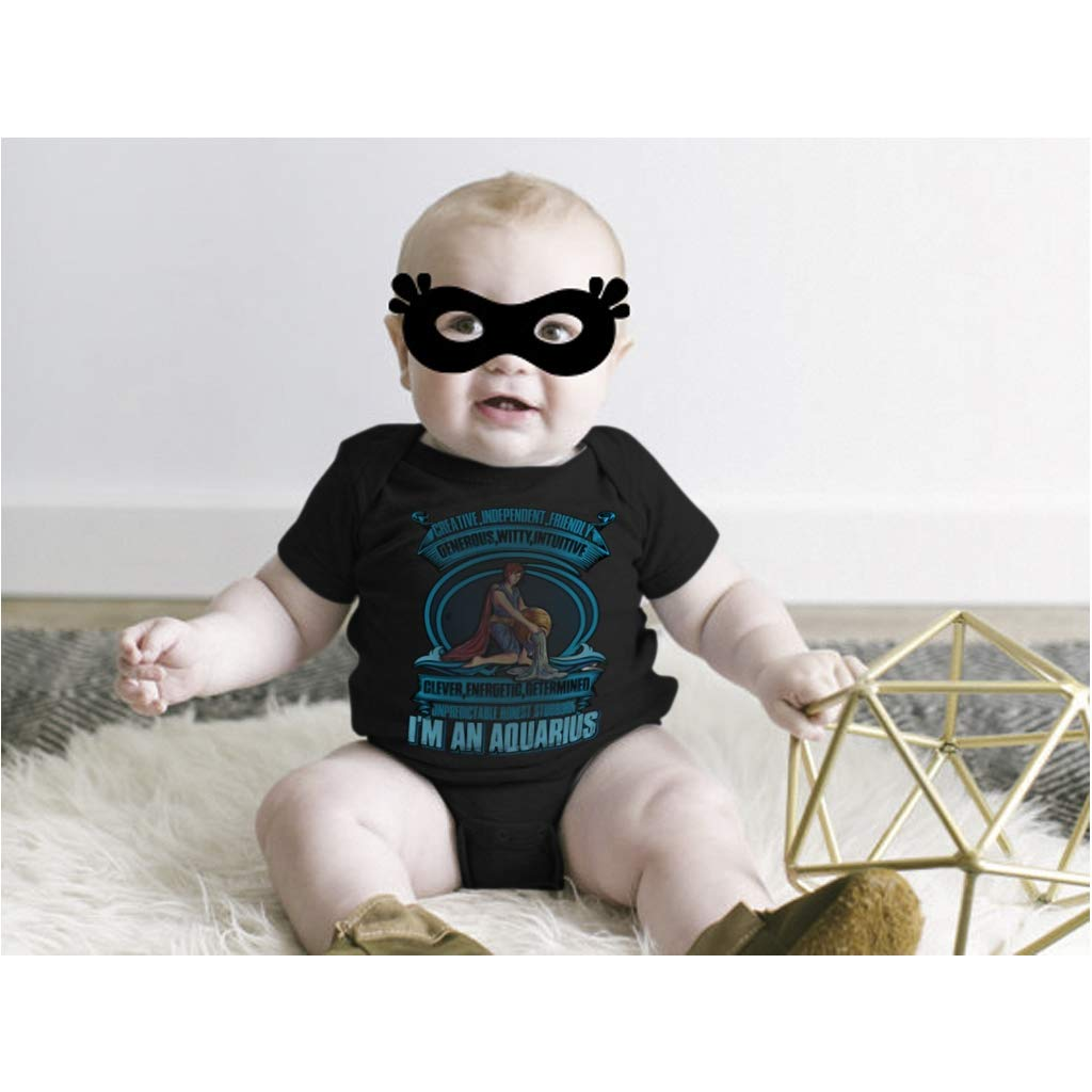 Amazon.com: Im An Aquarius Baby Bodysuit, Creative And Independent Baby Bodysuit: Clothing