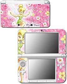 Princess Tinkerbell Tinker Bell Fairy Peter Pan Video Game Vinyl Decal Skin Sticker Cover for Original Nintendo 3DS XL System