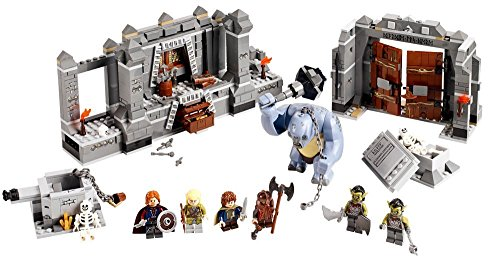 LEGO Lord of the Rings LOTR Mines of Moria w/ Six Minifigures Cave Troll | 9473