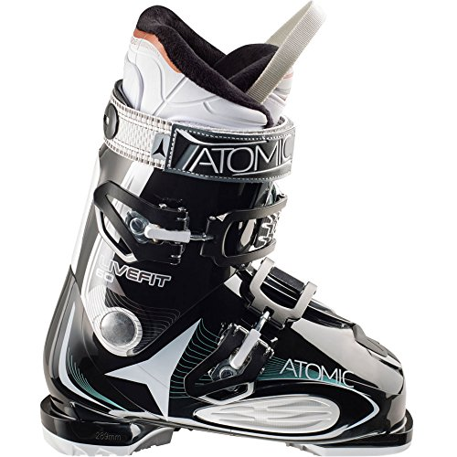 Womens Live Fit 60 Alpine Ski Boots - 23.5 - BLACK / WHITE