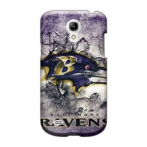Bumper Hard Phone Covers For Samsung Galaxy S4 Mini (sws24993CQFQ) Allow Personal Design Trendy Baltimore Ravens Image