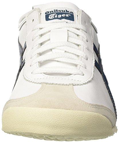 white Blue – 0145 Da Scarpe Adulto Bianco ink Ginnastica Asics Unisex Mexico 66 Zzqnw61