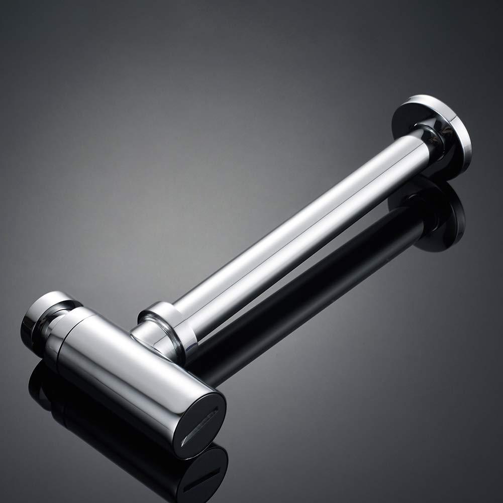 Lat/ón//Crome Botella sif/ón cuadrado Sif/ón de botella para lavabos//bidet//grifo 1//4, tubo 32 /ø GRIFEMA G103-COMPLENTOS