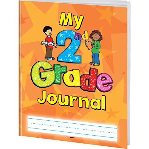Softcover 8 1/2'' x 11'' My Second Grade Journals - Set of 12 by Really Good Stuff
