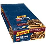 PowerBar Protein Snack Bar, Chocolate Peanut Butter Crisp, 1.94-Ounce Bars (Pack of 15)
