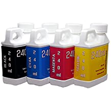 Dye Sublimation Ink 4 color 240ml bottles- EPSON Expression Eco-Tank ET-2650