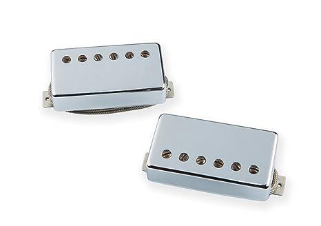 Seymour Duncan Custom Shop Alta Tensión pastilla Humbucker para guitarra eléctrica, color cromado