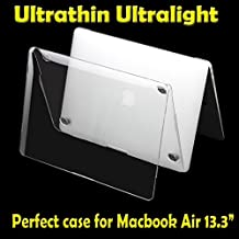 """Millimeter Ultrathin Transparent Clear Protective Apple New Macbook Air 13.3"""" Inch Cases (Model:A1466) Sleeves Sells for Mac 13"""