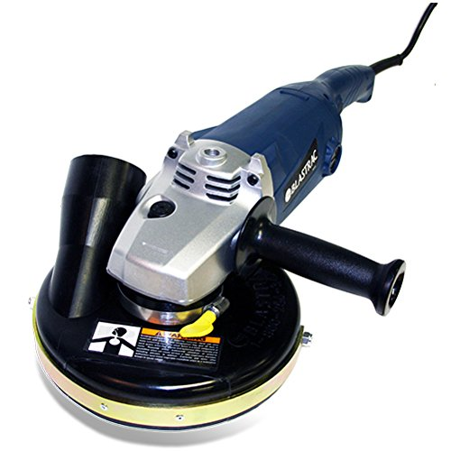 Blastrac 05-67000C Concrete Grinder Vacuum Assembly with convertible Shroud, 7'' by Blastrac