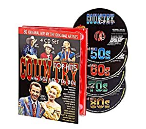 Country Top Hits Of The 50S 60S 70S And 80S (4-Cd)