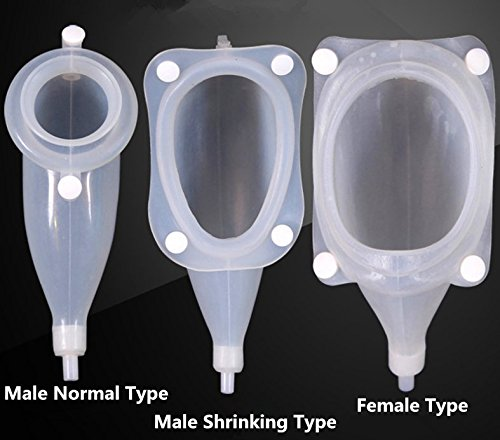 High Quality Urine Collector Medical Latex Sleeve Type Disposable Urine Bag 1000ML&2000ML Urine Collector with Urine (Men Shringking Type)