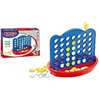 Pepperonz Creative Pattern Game of Bingo 4 in a Line ( Connect 4 ) Game for Kids