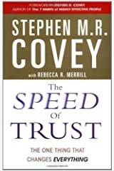 The Speed of Trust by Stephen M.R. Covey (2006-08-01) Paperback