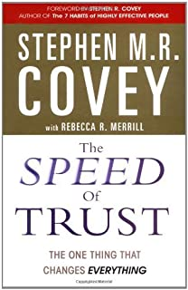 The Speed Of Trust Book Pdf