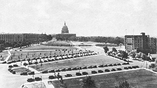 (US Capitol 1920S Nthe United States Capitol And The National Mall In Washington DC Publicity Postcard 1920S For Hotel Continental Extreme Right In Photo Poster Print by (18 x 24) )