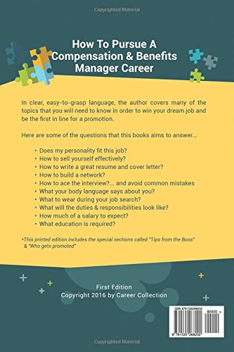 compensation benefits manager career special edition the insiders guide to finding a job at an amazing firm acing the interview getting promoted