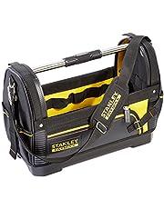 Stanley 1-93-951 FatMax gereedschapsdrager (48 x 33 x 22 cm, 600 denier nylon, waterdichte kunststof bodem, ergonomische rubberen handgreep, stalen versterkt, verstelbare schouderband)