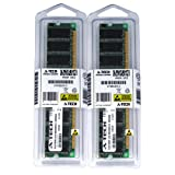 2GB kit (1GBx2) DDR PC3200 DESKTOP Memory Modules (184-pin DIMM, 400MHz) Genuine A-Tech Brand