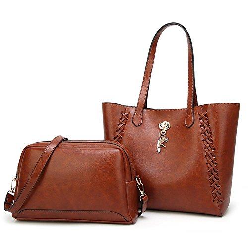 Aoligei Sacs à main européenne American Women sac femmes à main et la grande capacité du sac à bandoulière unique A