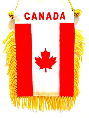 CANADA flag ,Canadian small car window rearview mirror automobile small Canada - Mirror Canada