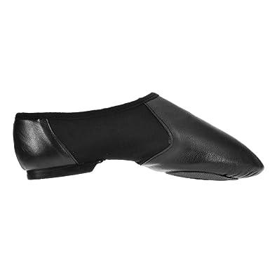 Starlite Negro Hyper Easy Slip On Leather Jazz Shoe 12s jQW8aYmr3