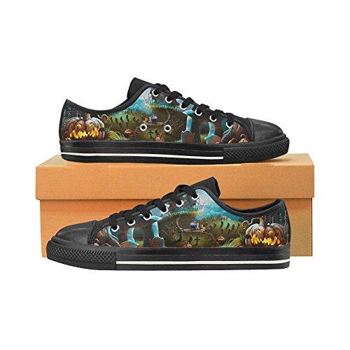 Custom Pumpkin D Happy Canvas Shoes Multicoloured6 Sneaker Story Fashion Womens Halloween Classic TxxAUn6