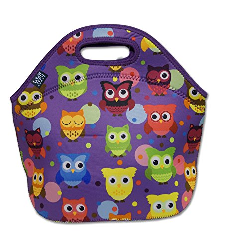 Insulated Neoprene Lunch Tote Bag