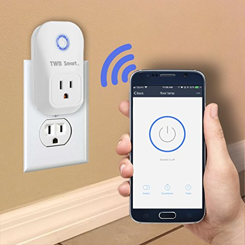 TWB Smart Wi-Fi Smart Plug, Compatible with Alexa and Works with Google Home. Smart Home Electrical Outlet Timer Compatible with Amazon Echo Dot Accessories. For Home Automation (2-Pack) by TWB Smart (Image #7)