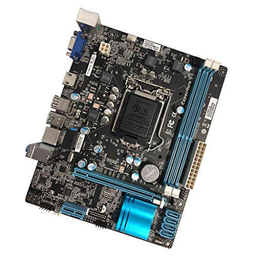MagiDeal H61V173 Desktop Motherboard DDR3 1600 Memory 1000M Network Card Mianboard by Unknown